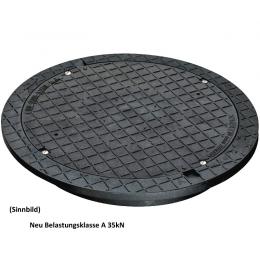 DN 600 Schachtaufsatz befahrbar, tagwasserdicht und geruchshemmend